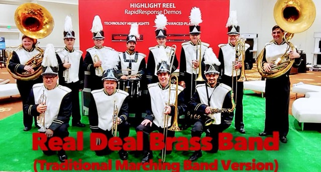 Corporate Marching Band, Corporate entertainment, Convention Band, Brass Band, Orlando, Florida, Central Florida