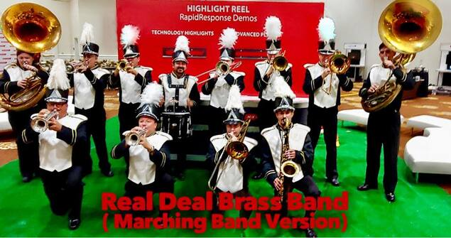 Marching Band for hire, corporate marching band, convention marching band, Marching Band for convention, Orlando, Florida, Sarasota, Saint Petersburg, Palm Beach, Miami, Boca Raton, Fort Lauderdale, Naples, Fort Myers
